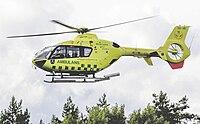 Ambulanshelikopter Ljusterö 15 augusti 2009.jpg