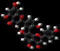 Amentoflavone molecule ball.png