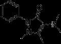 Aminophenazone-2d-skeletal.png