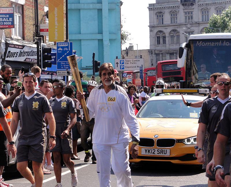 Amitabh Bachchan with Olympic torch.jpg