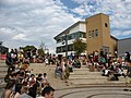 Amphitheatre, Warwick University.JPG
