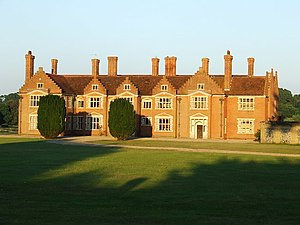 Eustace Balfour - Image: Ampton Hall in the sunlight geograph.org.uk 910705