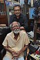 Amrit Gangar with Sushil Kumar Chatterjee - Kolkata 2017-02-23 0450.JPG