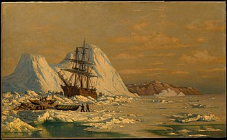 William Bradford (painter) - Image: An Incident of Whaling