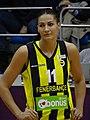 Anastasiya Verameyenka Fenerbahçe Women's Basketball vs Mersin Büyükşehir Belediyesi (women's basketball) TWBL 20180121.jpg