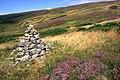 Ancient cairn by Brim Clough - geograph.org.uk - 964144.jpg