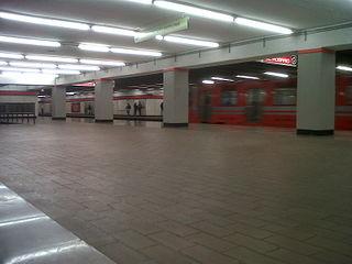 Metro Tezozómoc Mexico City metro station