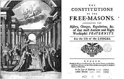 Resultado de imagen para constitucion de anderson 1723