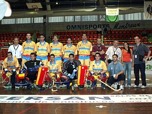 Andorra national roller hockey team - Andorra at the 2007 World Cup.