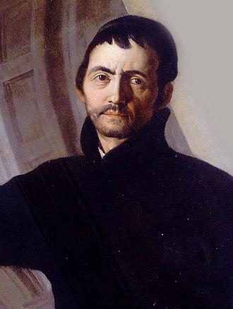 Andrea Pozzo - A self-portrait (17th century)
