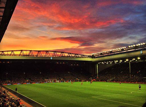 Anfield, 7 December 2013