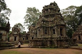 Chau Say Tevoda - Image: Angkor Chau Say Tevoda 2009b