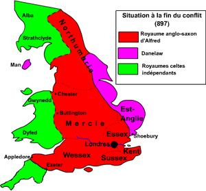 Весекс королевство нападение викингов