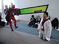 Anime Expo 2011 - Deadpool and pal (5893317762).jpg