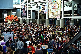 Anime Expo - Attendees gather at the Los Angeles Convention Center's South Hall during Anime Expo 2016
