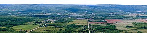 Bridgetown, Nova Scotia - Bridgetown from Valleyview Provincial Park at the western end of the Annapolis Valley.