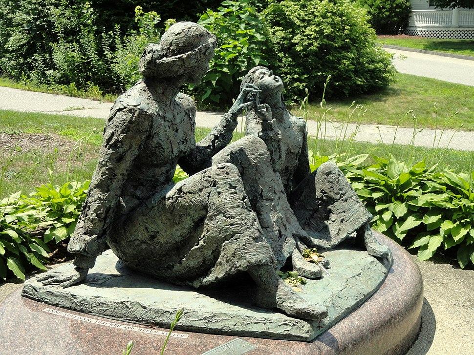 Anne Sullivan - Helen Keller memorial - Tewksbury, Massachusetts - DSC00072