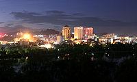 Anning City in night.jpg