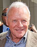 Photo of Anthony Hopkins at the Toronto International Film Festival in 2010.