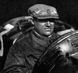 Antonio Ascari - Antonio in an Alfa Romeo P2 in 1925