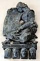 Antonio berti, rilievo ai caduti della seconda guerra mondiale, anni 1950, 01.jpg