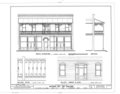 Antonio del Rio Building, 1514, 1516, 1518 East Eighth Avenue, Tampa, Hillsborough County, FL HABS FLA,29-TAMP,21- (sheet 3 of 3).png
