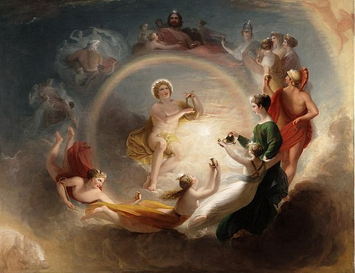 Apollo's enchantment, by Henry Howard (British)