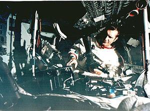 Apollo 12 Gordon in simulator.jpg