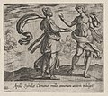 Apollo Granting the Cumaean Sybil's Wish (Apollo Sybillae Cumanae mille annorum atatem indulget), from Ovid's The Metamorphoses, plate 133 MET DP864224.jpg