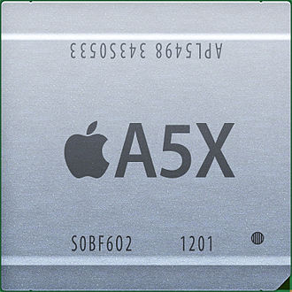IPad (3rd generation) - Apple's A5X chip