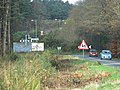 Approach to the roundabout at Ashcombe Cross - geograph.org.uk - 1591348.jpg