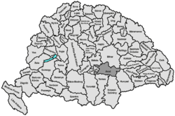 Location of Arad