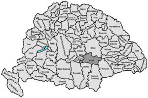Arad County (former) - Image: Arad Ko H