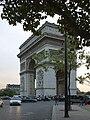 Arc de Triomphe de l'Étoile, 3 October 2014.jpg