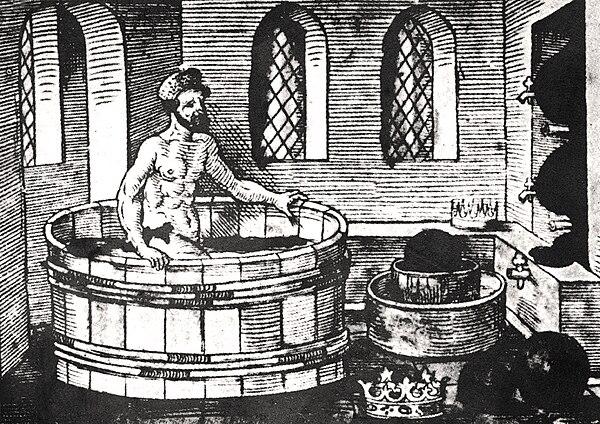 Archimedes bath