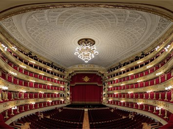 Architettura La Scala operahouse