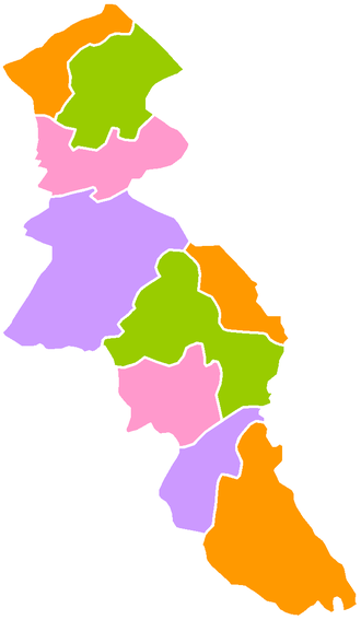 Ardabil Province - Image: Ardabil counties