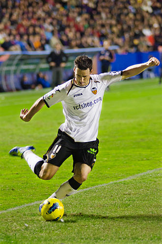Aritz Aduriz - Aduriz in action for Valencia in 2011