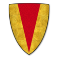 Armorial Bearings of the CHAUNDOS of Fownhope and Snodhill Castle, Herefordshire.png