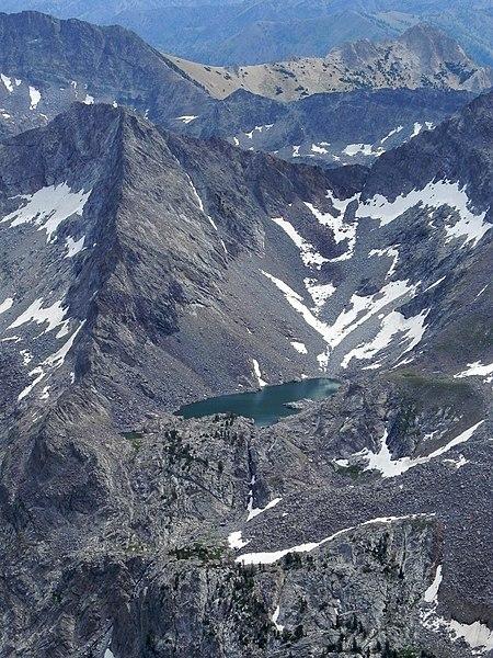 File:Arrowhead Lake in Pioneer Mountains.JPG