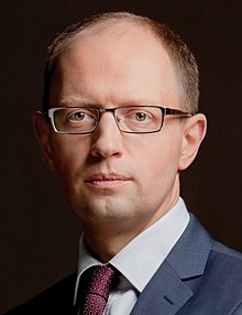 Arseni Yatseniouk en 2012.