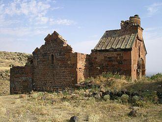Artavazik Church - Image: Artavazik North Wall 2