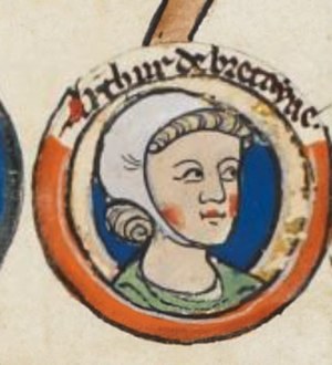 Arthur I, Duke of Brittany - Image: Artur of Brittany