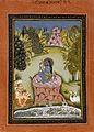 Asavari Ragini, the Fourth Wife of Shri Raga, Folio from a Ragamala (Garland of Melodies) LACMA AC1999.127.30.jpg