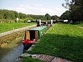 Ascending Froxfield Bottom Lock No 70, Kennet and Avon Canal - geograph.org.uk - 857403.jpg