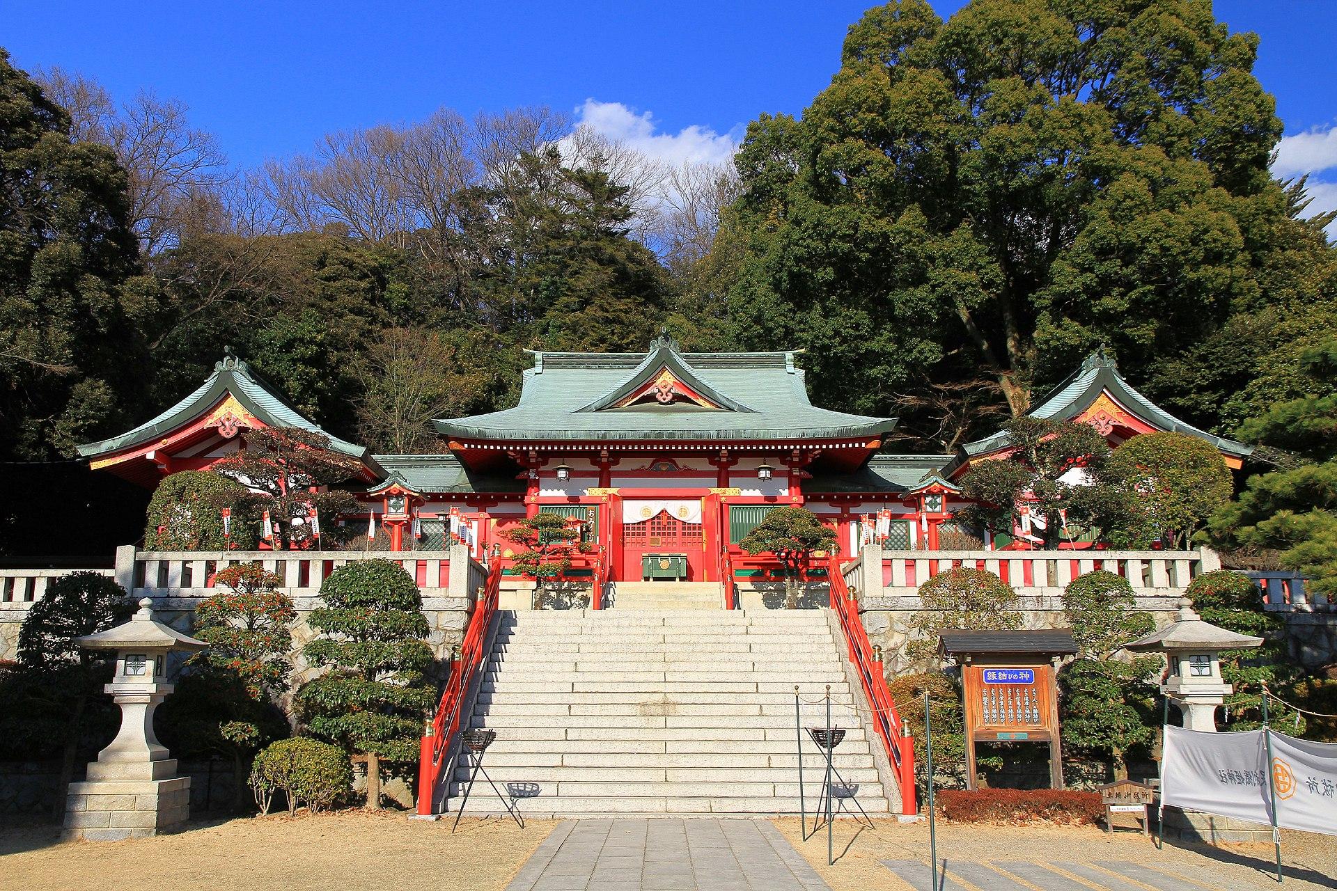 Ashikaga Orihime Shrine Shaden 1.JPG