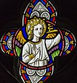 Ashwell, St Mary's church, Stained glass window detail (41991677931).jpg