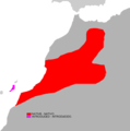 Atlantoxerus getulus range map.png