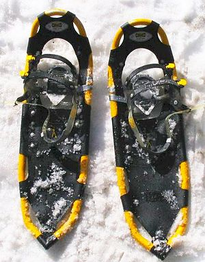 Snowshoe - A pair of modern snowshoes