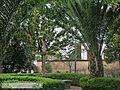 Atrio del Jardin de la Parroquia San Jacinto Ixtapaluca, Estado de Mexico.jpg
